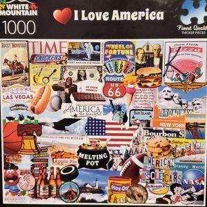 I Love America Puzzle